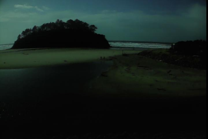 Proposal Rock in Neskowin - Oregon Coast Webcam